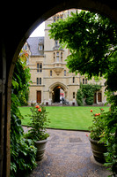 Oxford - Balliol College - Entrance Arch