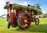 60. 1913 Burrell Scenic Showman's Road Locomotive - Perseverance The Second