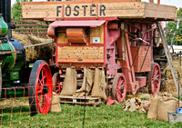 Foster Threshing Machine